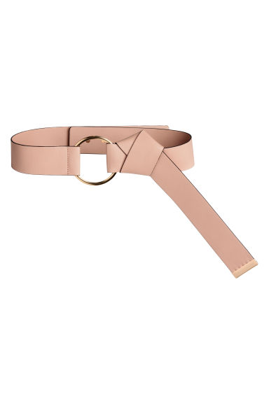 Wide waist belt - Powder - Ladies | H&M CN 1